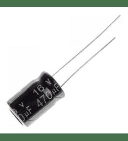 Condensador Electrolítico 470uf 16v - 25v - 50v