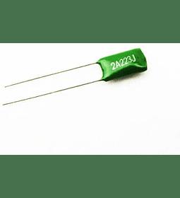 Condensador Poliester 22nf 100v