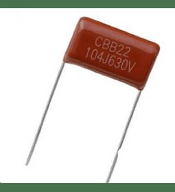 Condensador Poliester 100nf 630v