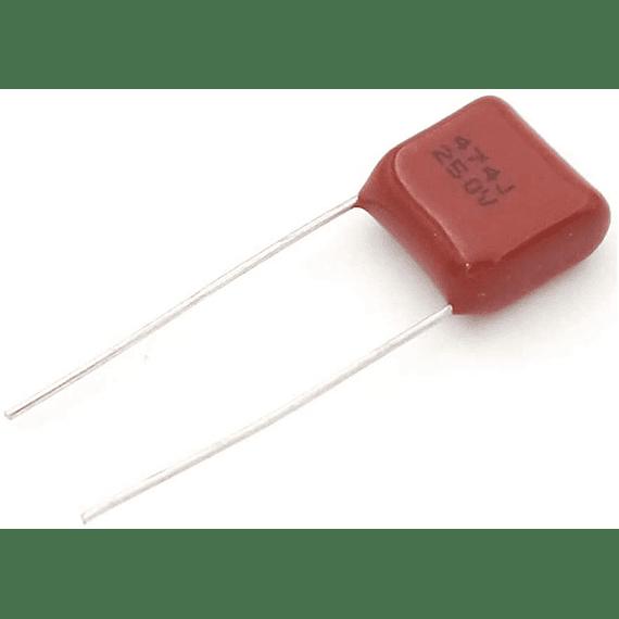 Condensador Poliester 470nf 250v