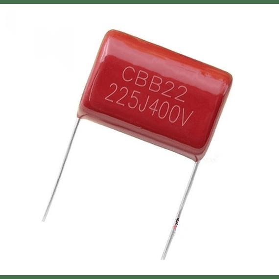 Condensador Poliester 2.2Uf 400v