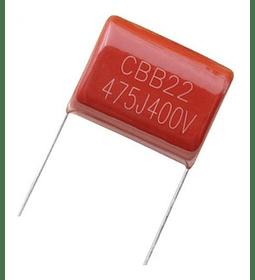 Condensador Poliester 4.7Uf 250v