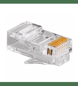 Conector Plug RJ45  Categoría 5E