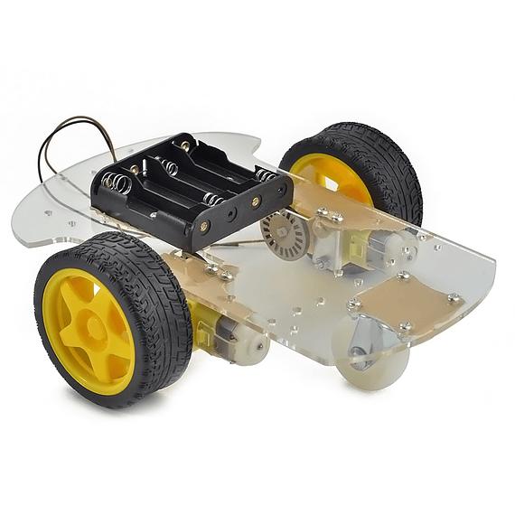 Chasis 2WD KIT Carro Smart Robot Arduino