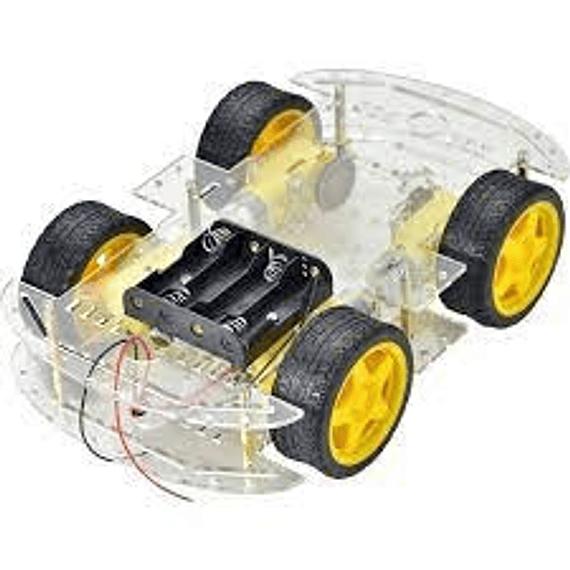 Chasis 4WD KIT Carro Smart Robot Arduino