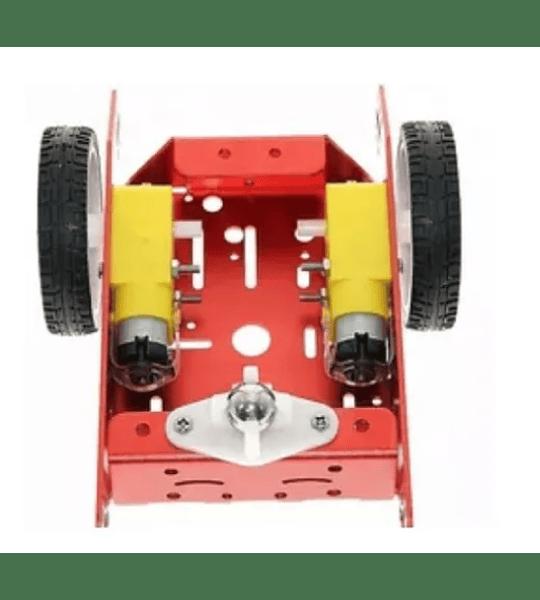 Chasis De Aluminio Con Motores Y Llantas