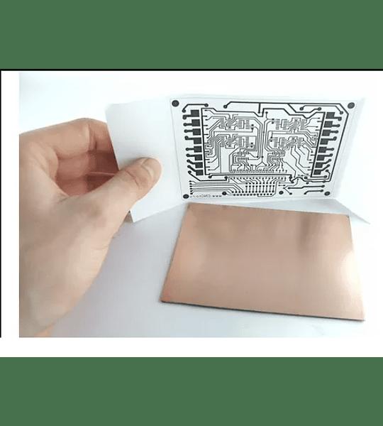 Papel Termotransferible para circuitos Impresos