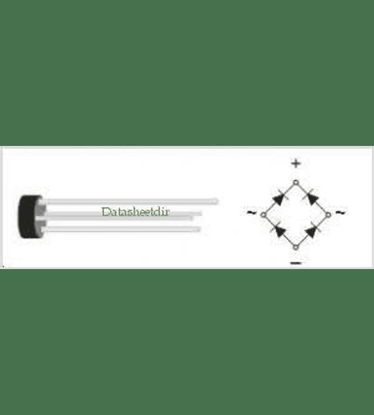 Puente Rectificador W06 1.5A 600V