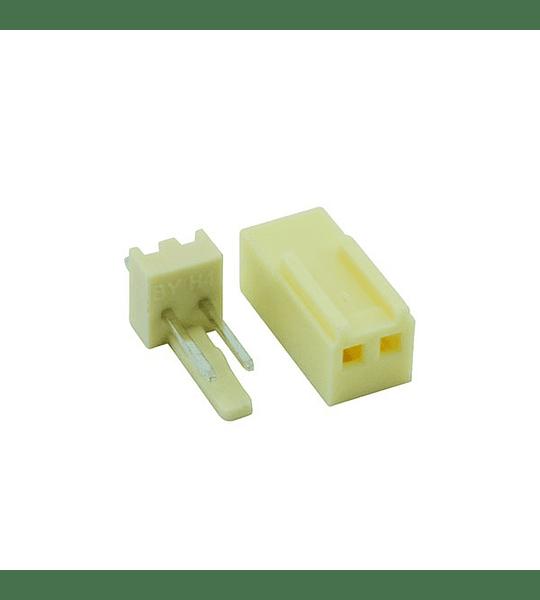 Conector GP de 2  Con Pines Tipo Uñas