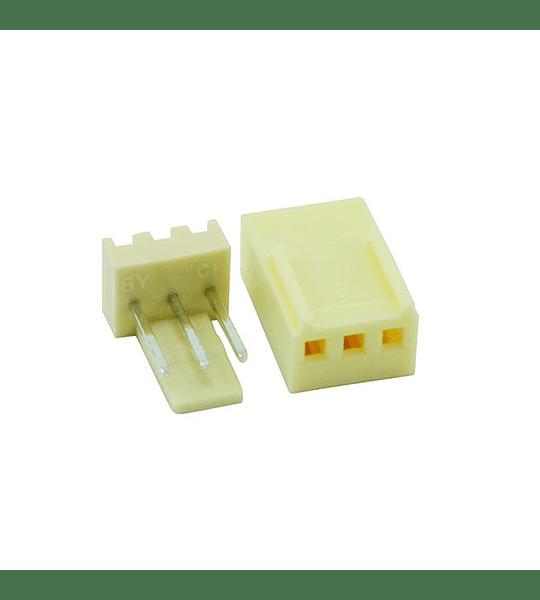 Conector GP de 3  Con Pines Tipo Uñas