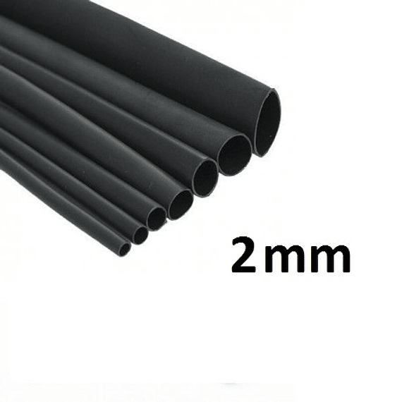 Tubo Termoencogible 2mm x metro