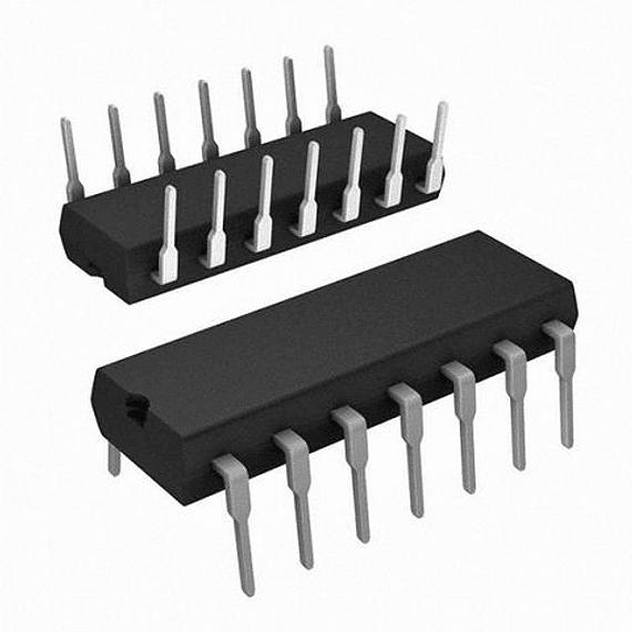 CD4007 CMOS Inversor Doble Par