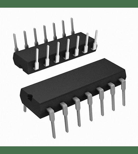 CD4070 CMOS Cuatro Compuertas X OR de 2 Entradas