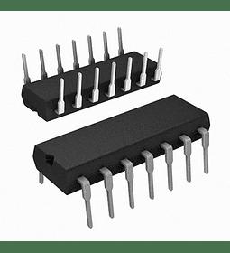CD4075 CMOS Tres Compuertas OR con 3 Entradas