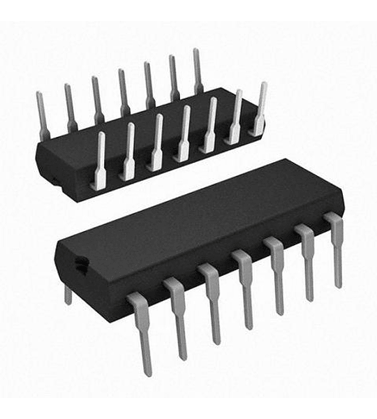 CD40106 CMOS Seis Inversores Hex Schmitt Trigger