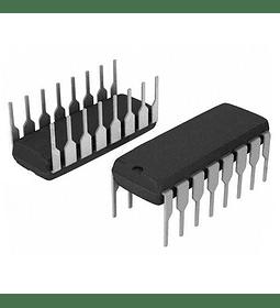 CD4511BE CMOS Decodificador para display 7 Segmentos