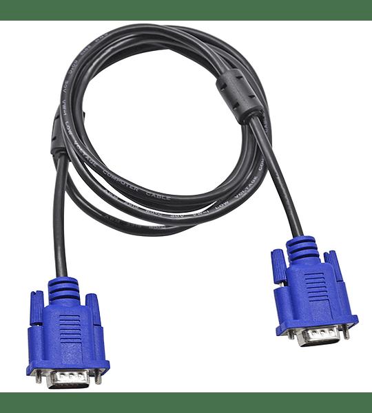 Cable Video VGA Con doble Filtro 1.8 M