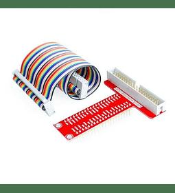 Extensión GPIO + Cable de Conexión para Raspberry PI
