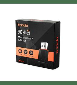 TARJETA DE RED INALAMBRICA  USB TENDA 300 MBPS