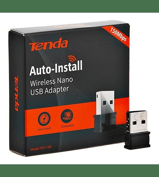 TARJETA DE RED INALAMBRICA  USB TENDA 150 MBPS
