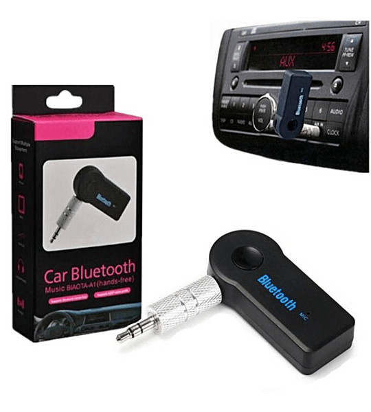 Adaptador Bluetooth Para Carro Con Entrada 3.5mm