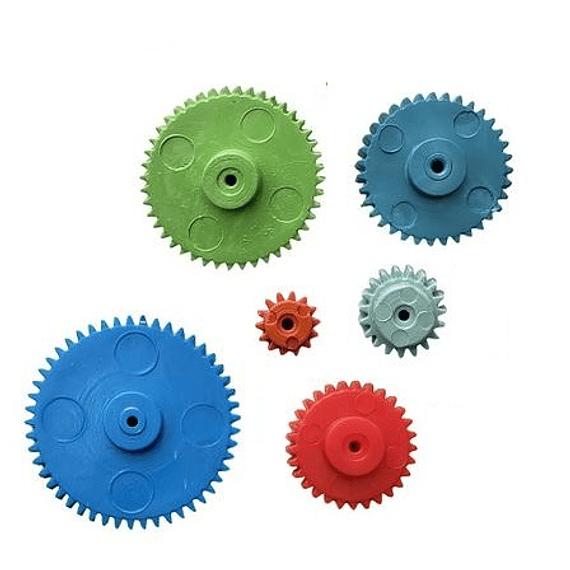 KIT Set de Piñones Engranajes Plasticos x 6 pcs