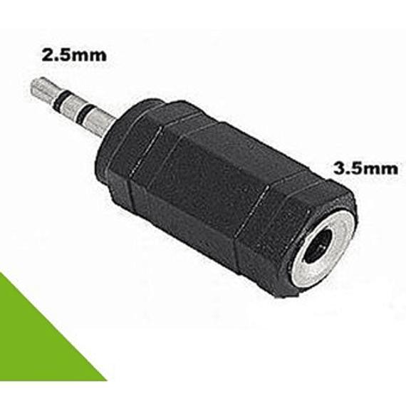 Convertidor Jack 3.5mm a Plug  2.5mm