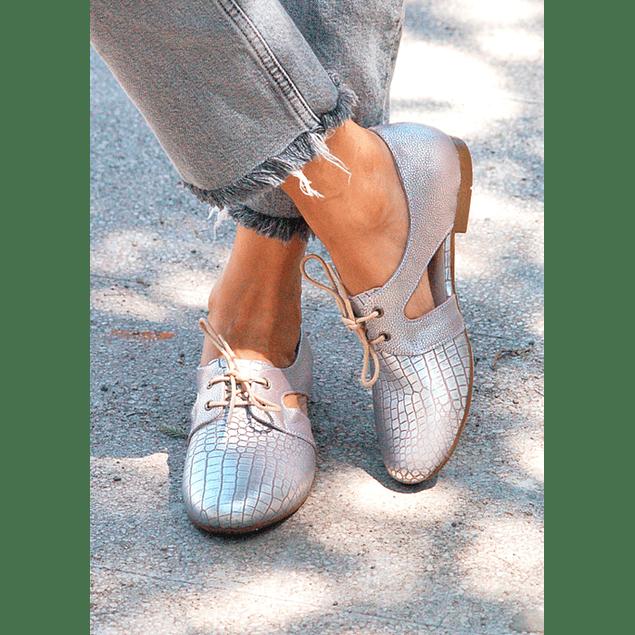Zapato Cutout Lila