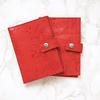 Porta Documentos Rojo textura