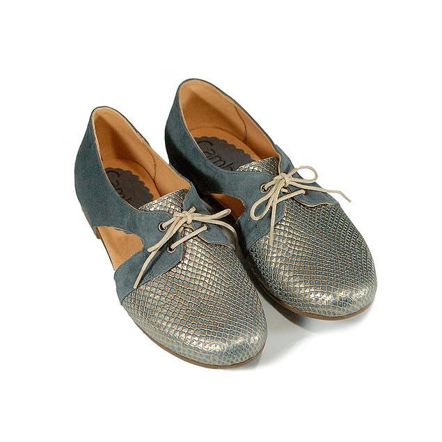 Zapato Cutout Azul