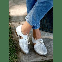 Zapato Cutout Blanco