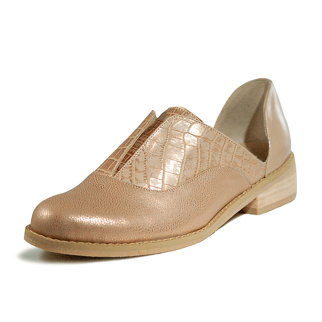 Zapato Ema Rosa Nude