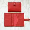 Porta Documentos Rojo