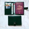 Porta Documentos Verde Richato
