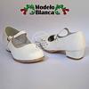 Zapatos Cueca Modelo Blanca