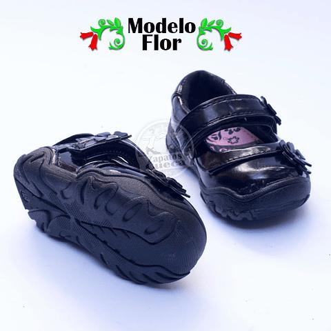 Zapatos Cueca Modelo Flor