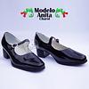 Zapatos Cueca Modelo Anita Charol