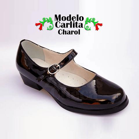 Zapatos Cueca Modelo Carlita Charol