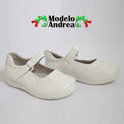 Zapatos Cueca Modelo Andrea Blanco