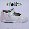 Zapatos Cueca Modelo Emilia Blanco