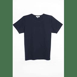 Polera Azul Marino escote Redondo