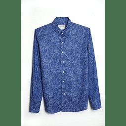 Camisa Espiral Azulino
