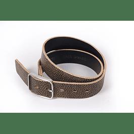 Cinturón Oval Texturado