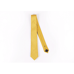Corbata Amarilla Lisa