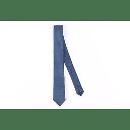 Corbata Azul Círculos