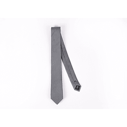 Corbata Gris cuadrados