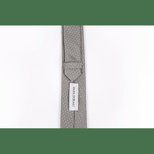 Corbatas Gris espigas