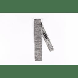 Corbata Gris tejida