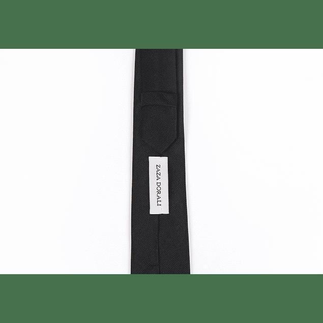 Corbata Negra lisa