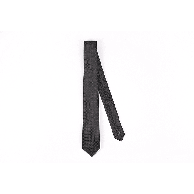 Corbata Negro círculos
